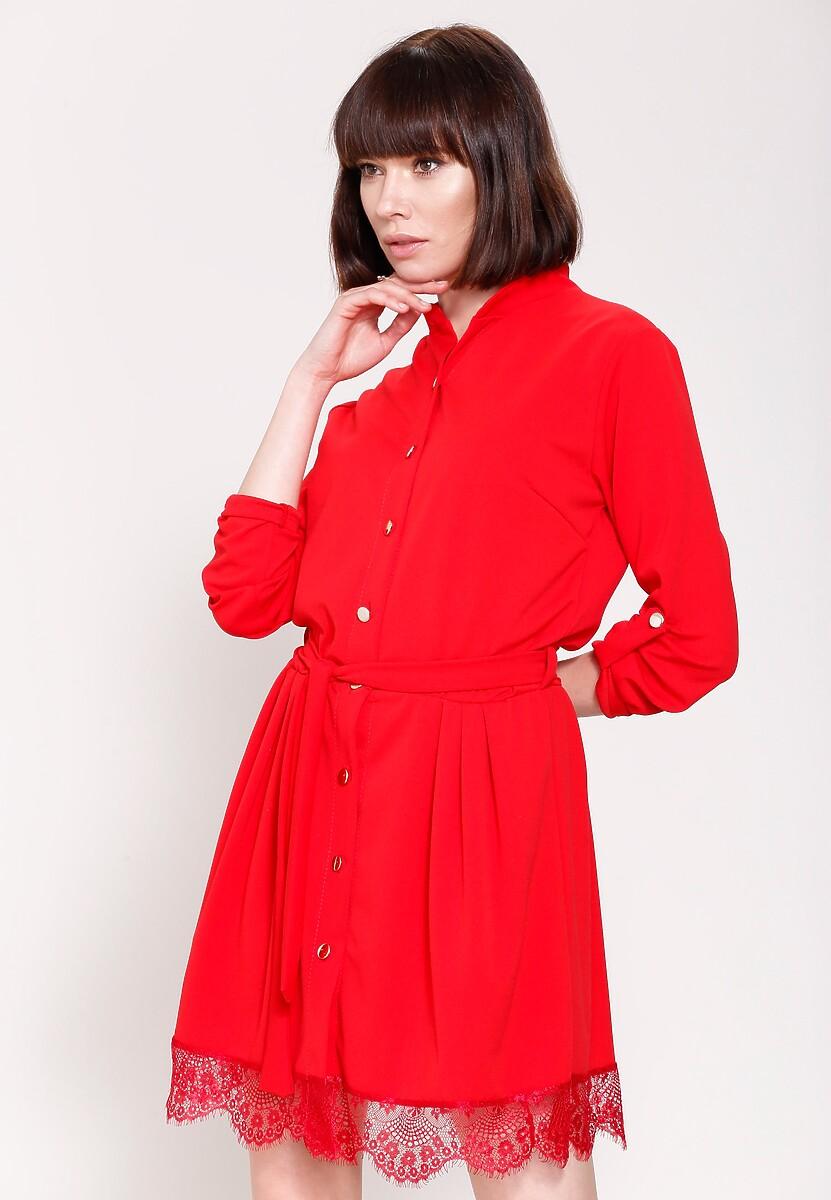 Czerwona Sukienka Come Joining