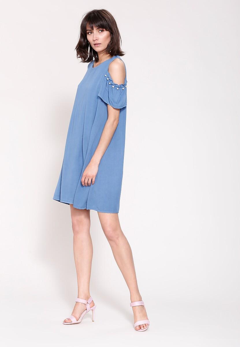 Jasnoniebieska Sukienka Rejoice