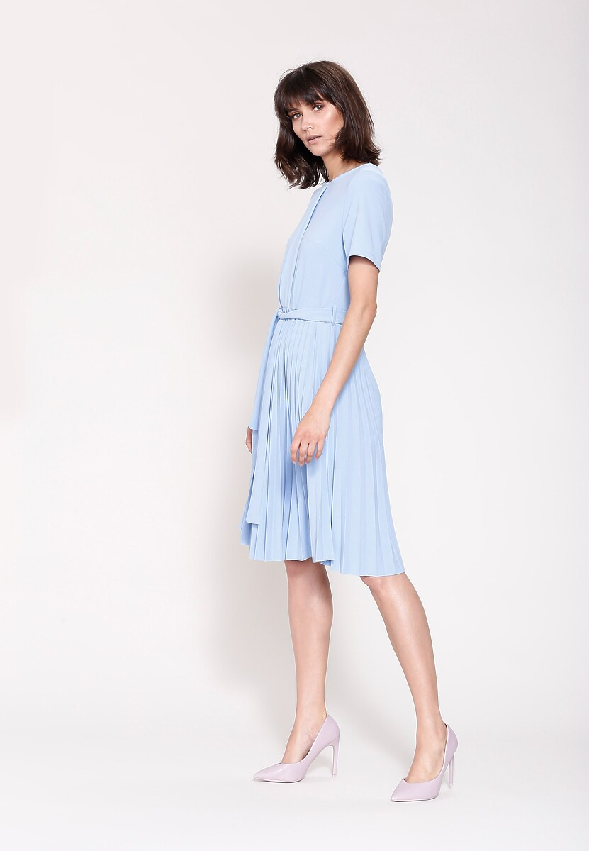 Jasnoniebieska Sukienka I Need You