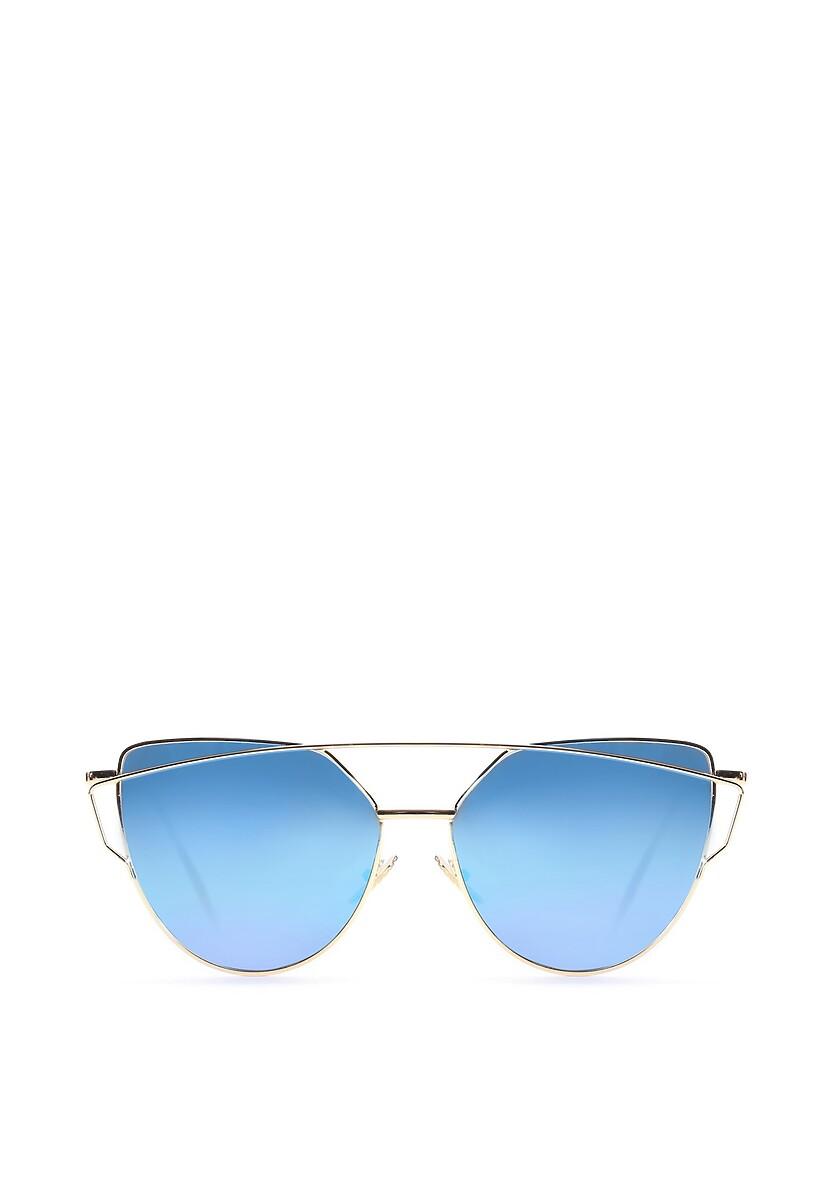 Niebiesko-Złote Okulary To My Knees