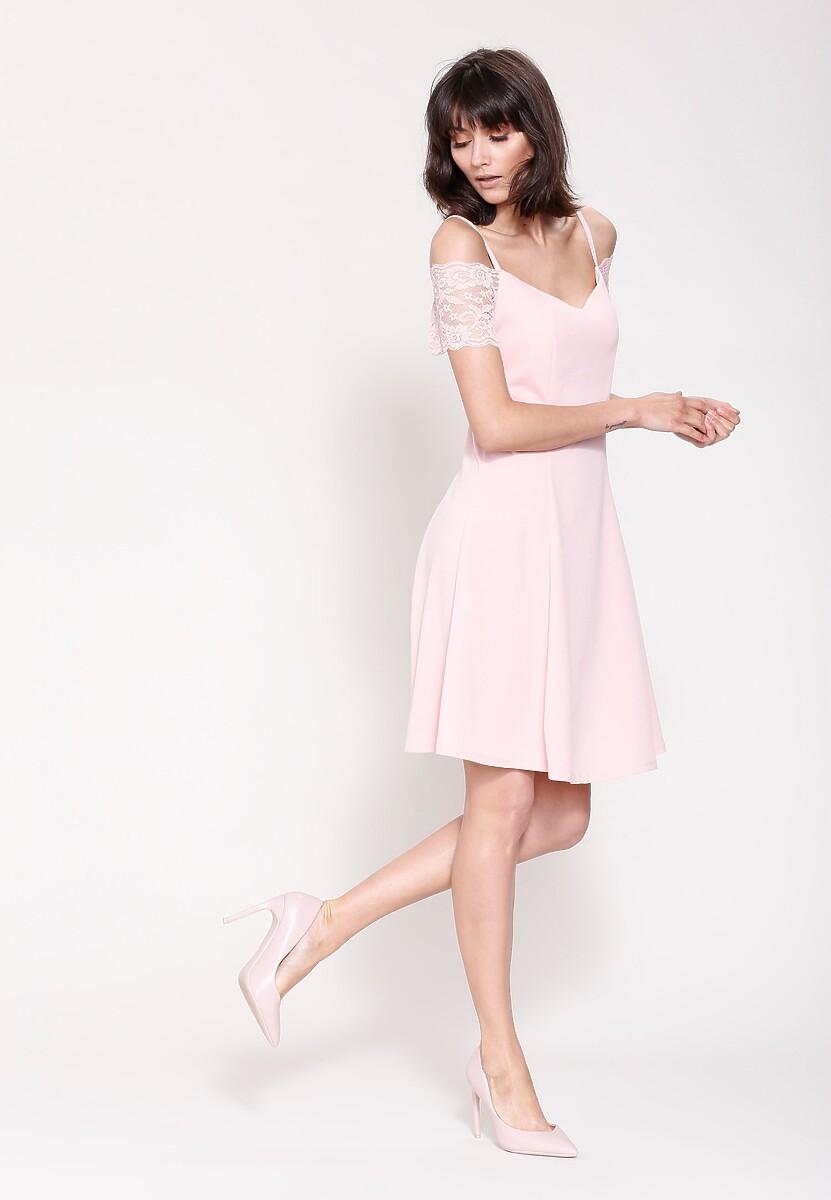 Różowa Sukienka Paradise Edition