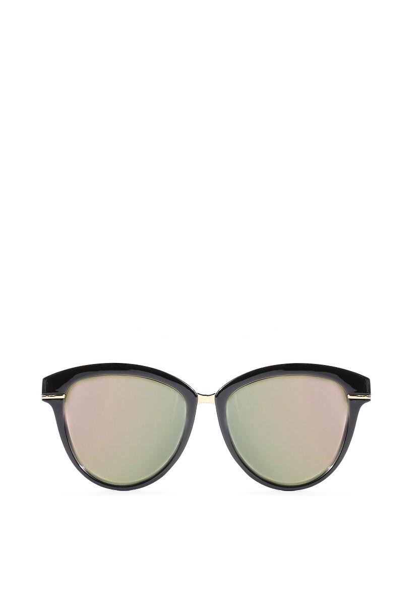 Czarno-Różowe Okulary Blinding