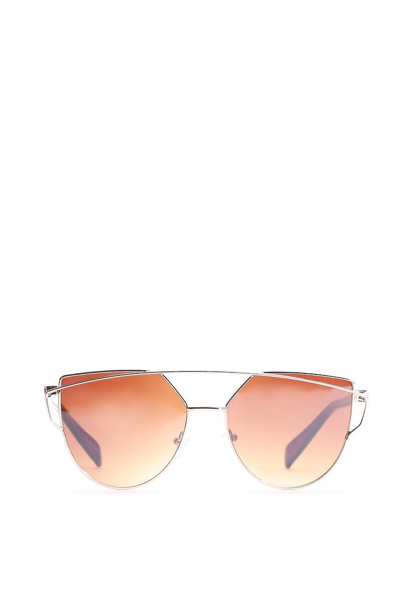 Złoto-Brązowe Okulary After All
