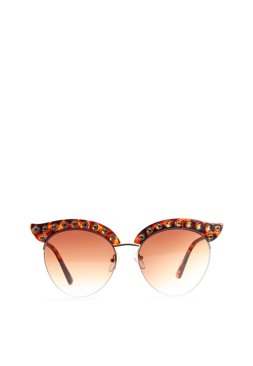 Brązowe Okulary My Stone