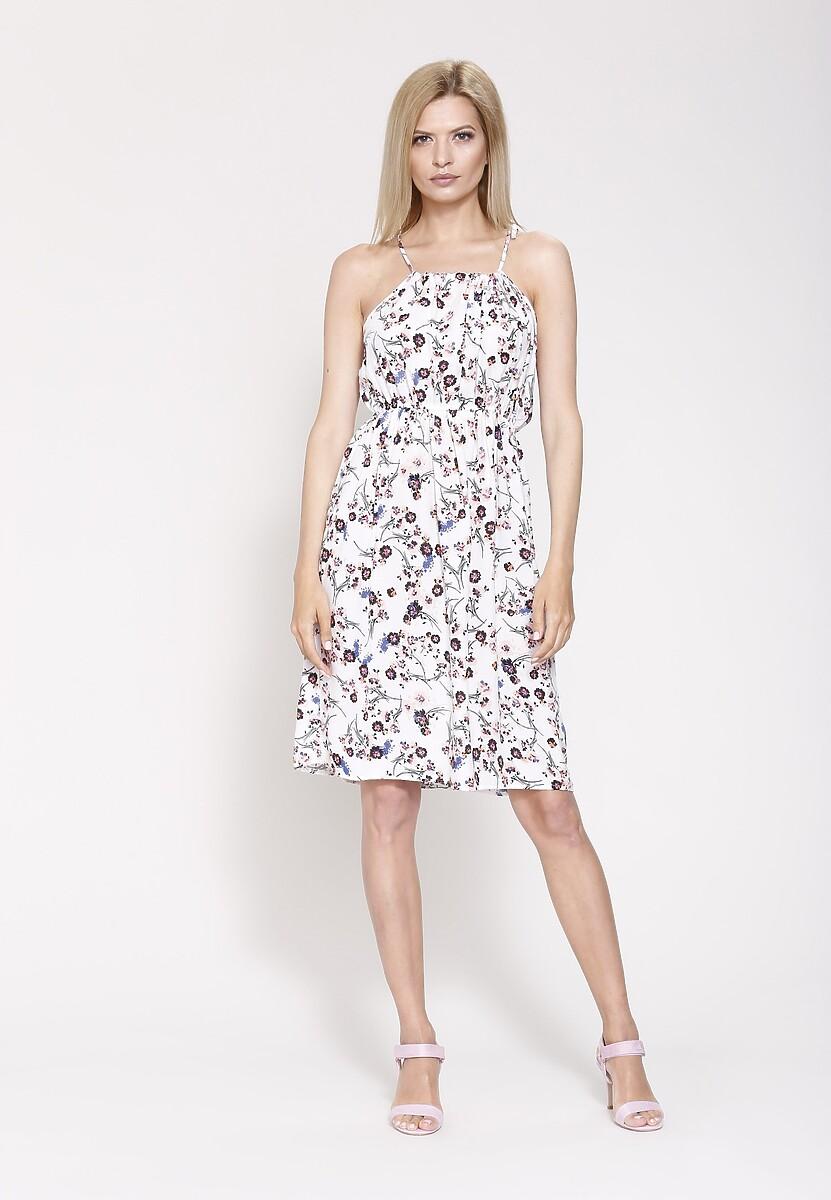 Biała Sukienka If You Wait