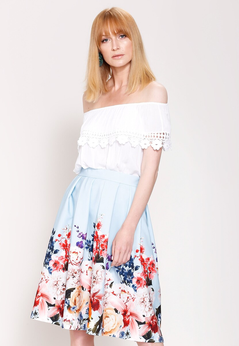 Niebieska Spódnica Bring Me Sunshine