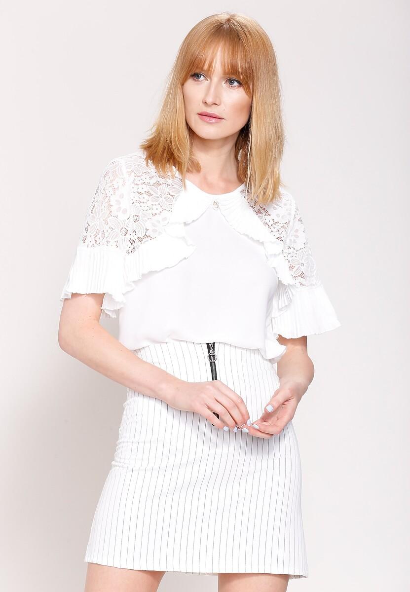 Biała Bluzka  Arm Lace