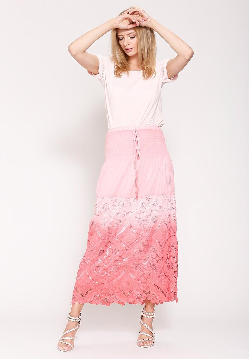 Różowa Spódnica Quick-Tempered