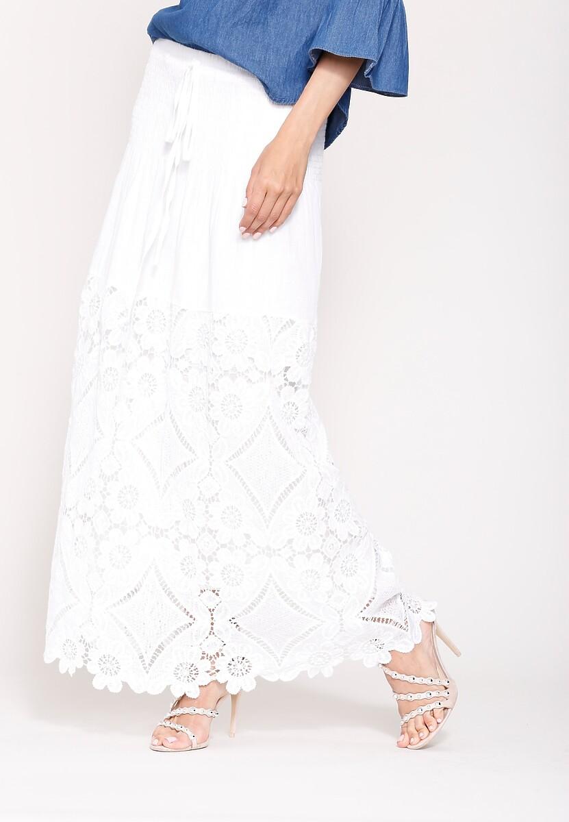 Biała Spódnica Quick-Tempered