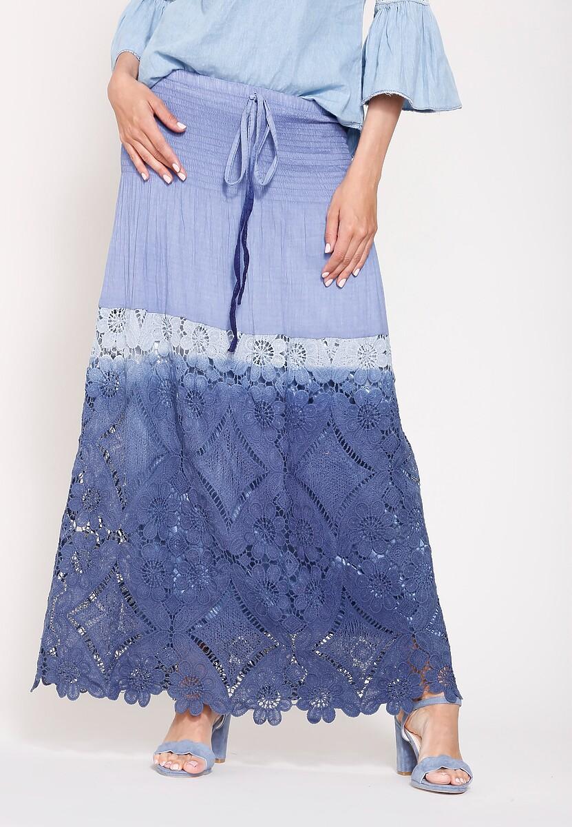 Niebieska Spódnica Quick-Tempered