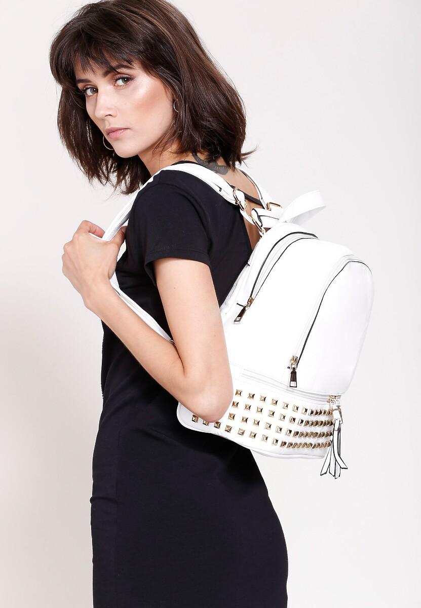 Biały Plecak This Is Nightlife