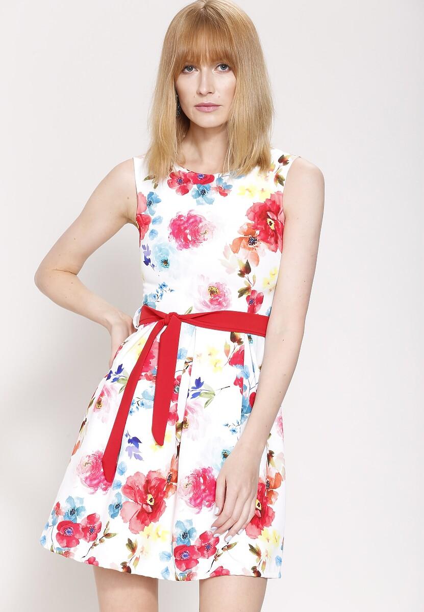 Biała Sukienka In Full Sun