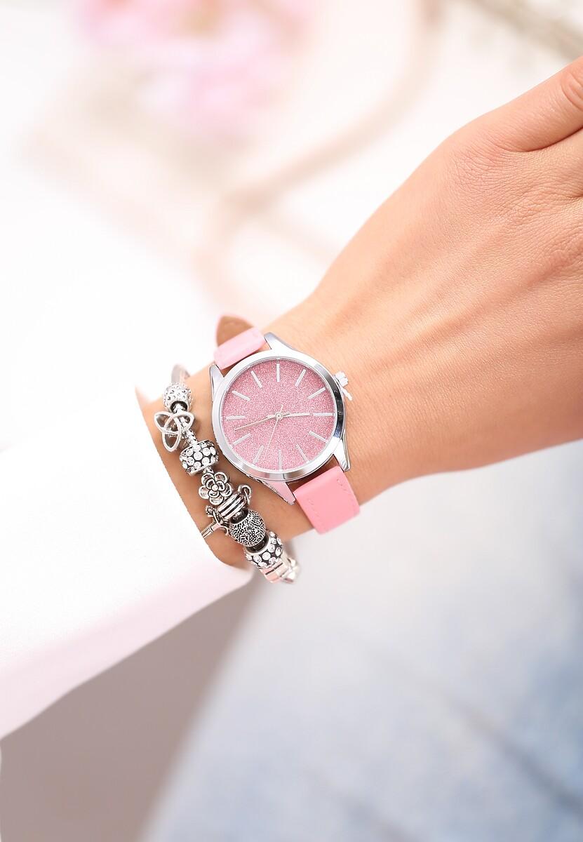 Różowy Zegarek For Those Who Love