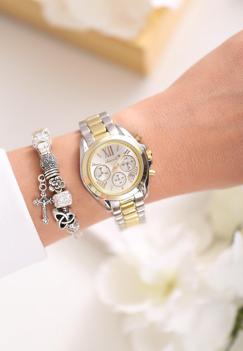 Srebrno-Złoty Zegarek To Heaven