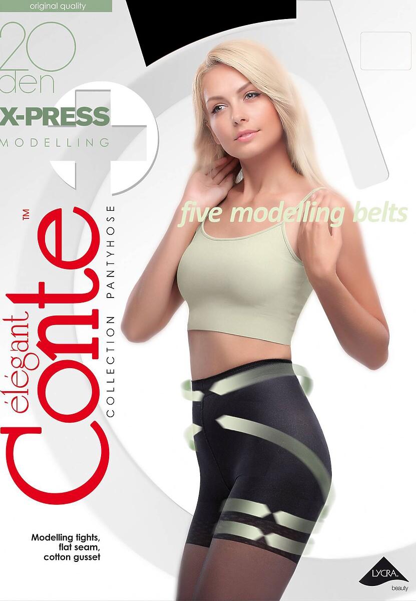 Czarne Rajstopy Conte Model Shape