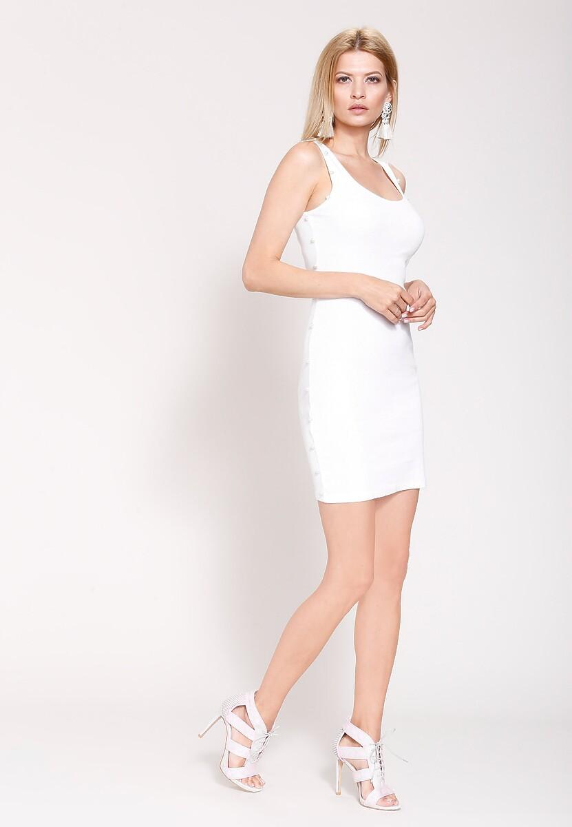 Biała Sukienka Simplest Outfit