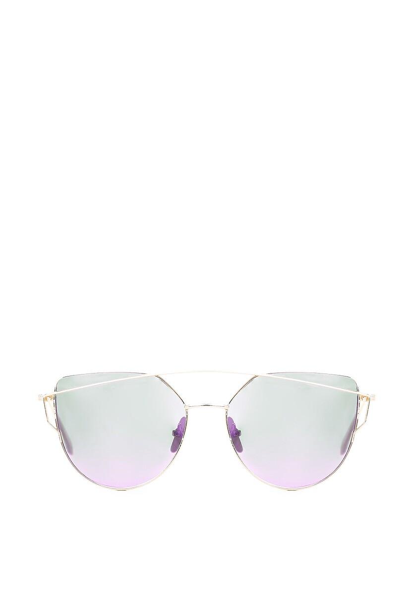 Złoto-Fioletowe Okulary After All