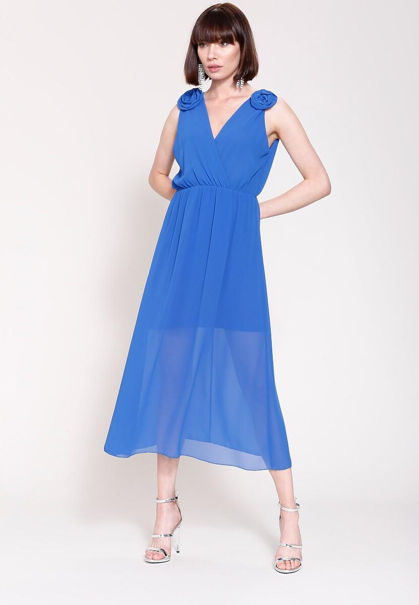 Kobaltowa Sukienka What You Need