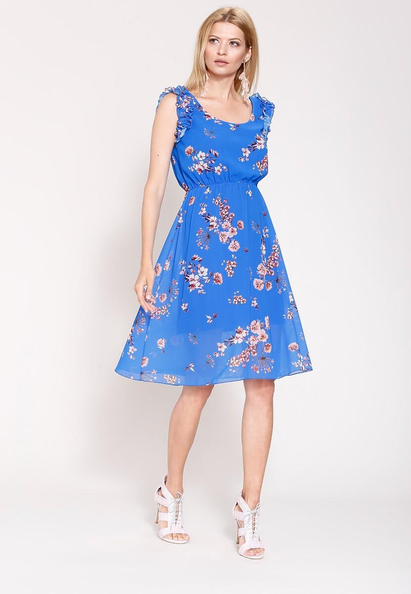 Kobaltowa Sukienka So In Love