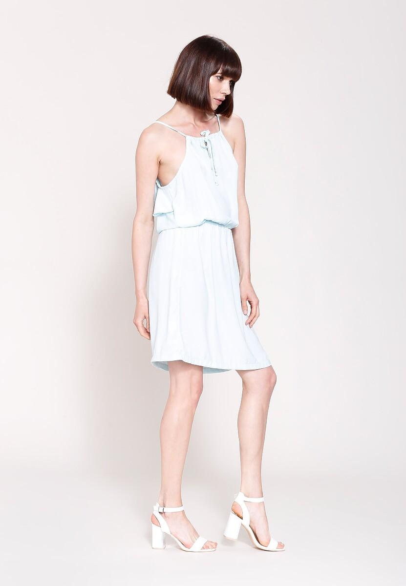 Jasnoniebieska Sukienka High Standard