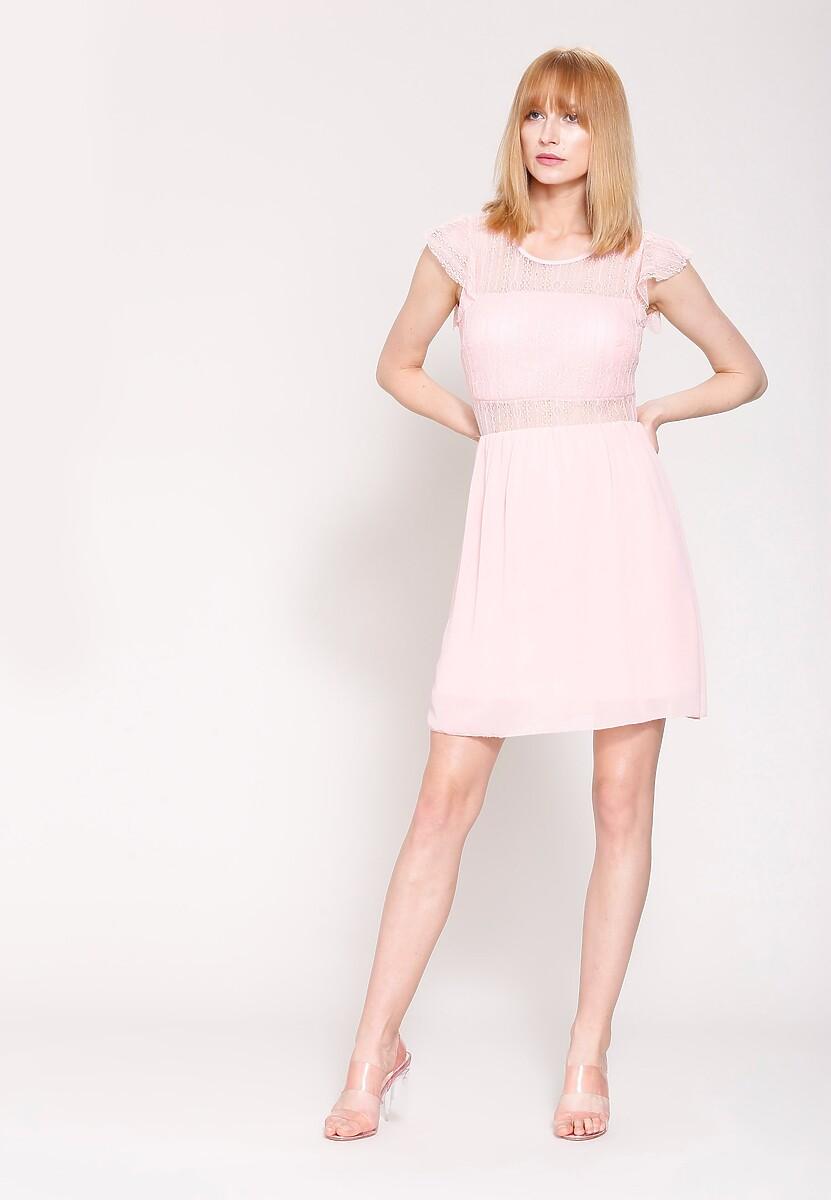 Różowa Sukienka Mysterious One
