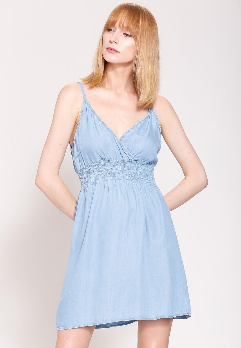 Jasnoniebieska Sukienka Ocean Winds