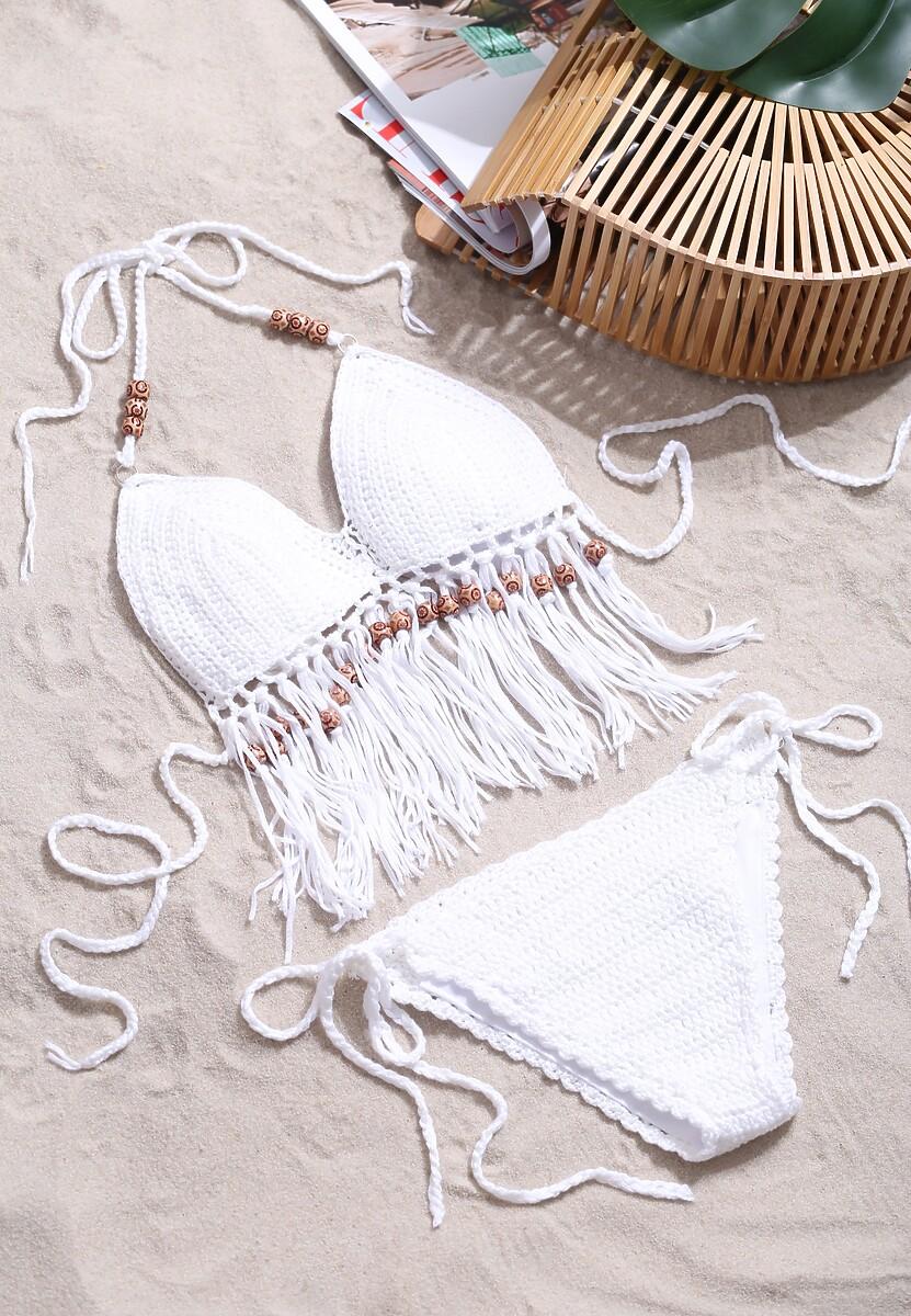 Biały Strój Kąpielowy Hippie's Divine