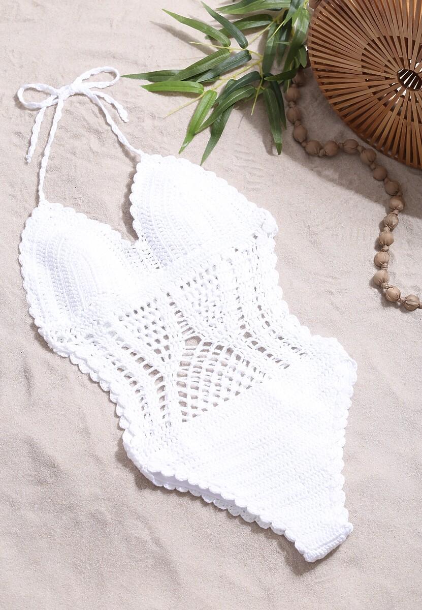 Biały Strój Kąpielowy Summer Day