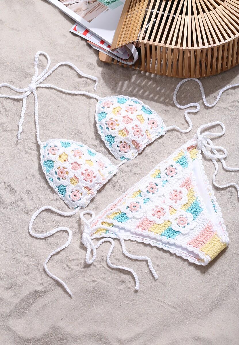 Biało-Niebieski Strój Kąpielowy Morning Sun Renee Limited