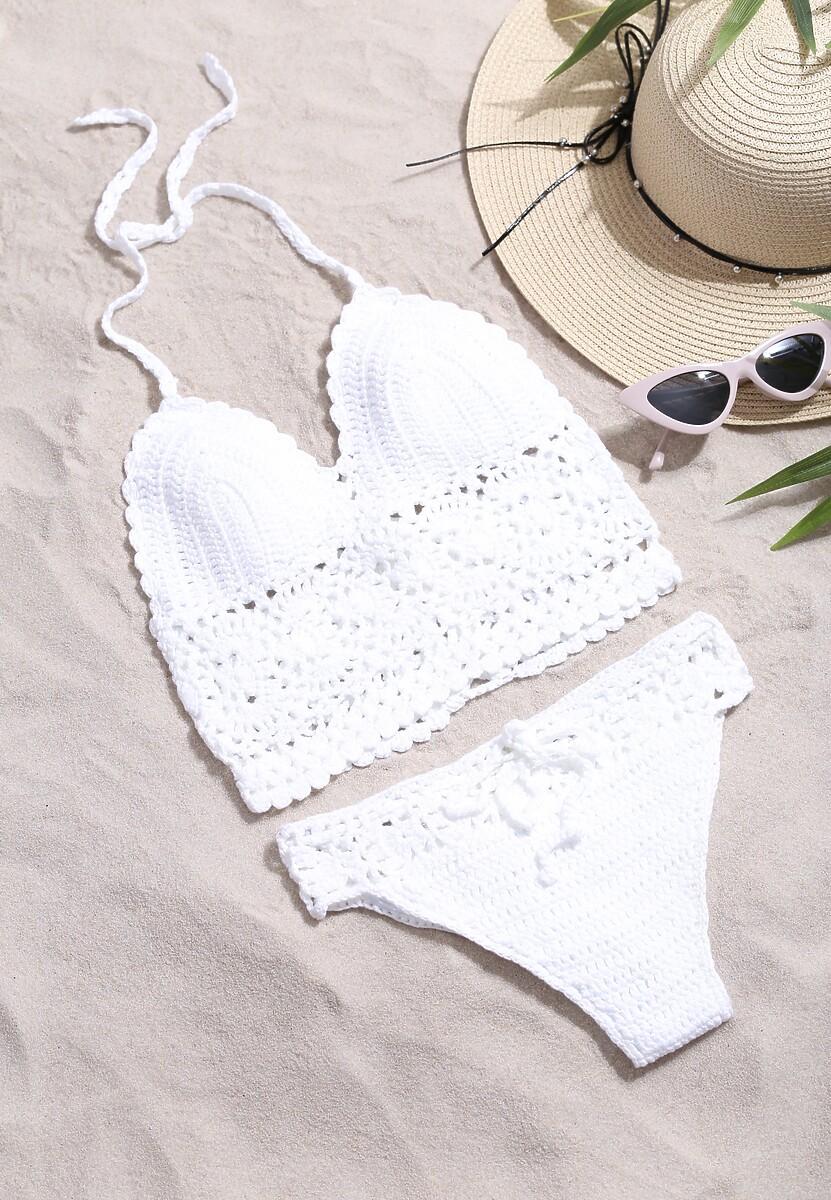 Biały Strój Kąpielowy Sahara's Sun Renee Limited