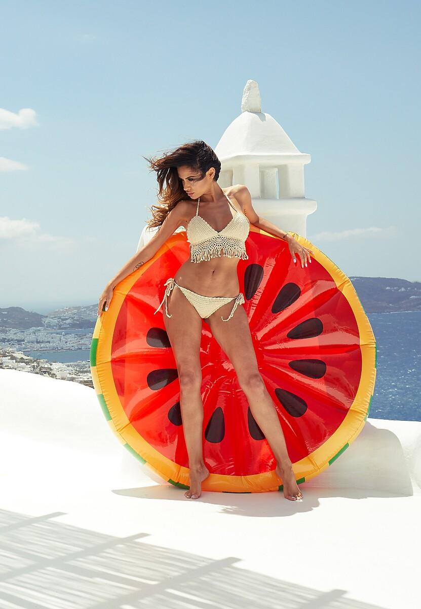 Czerwony Materac Watermelon
