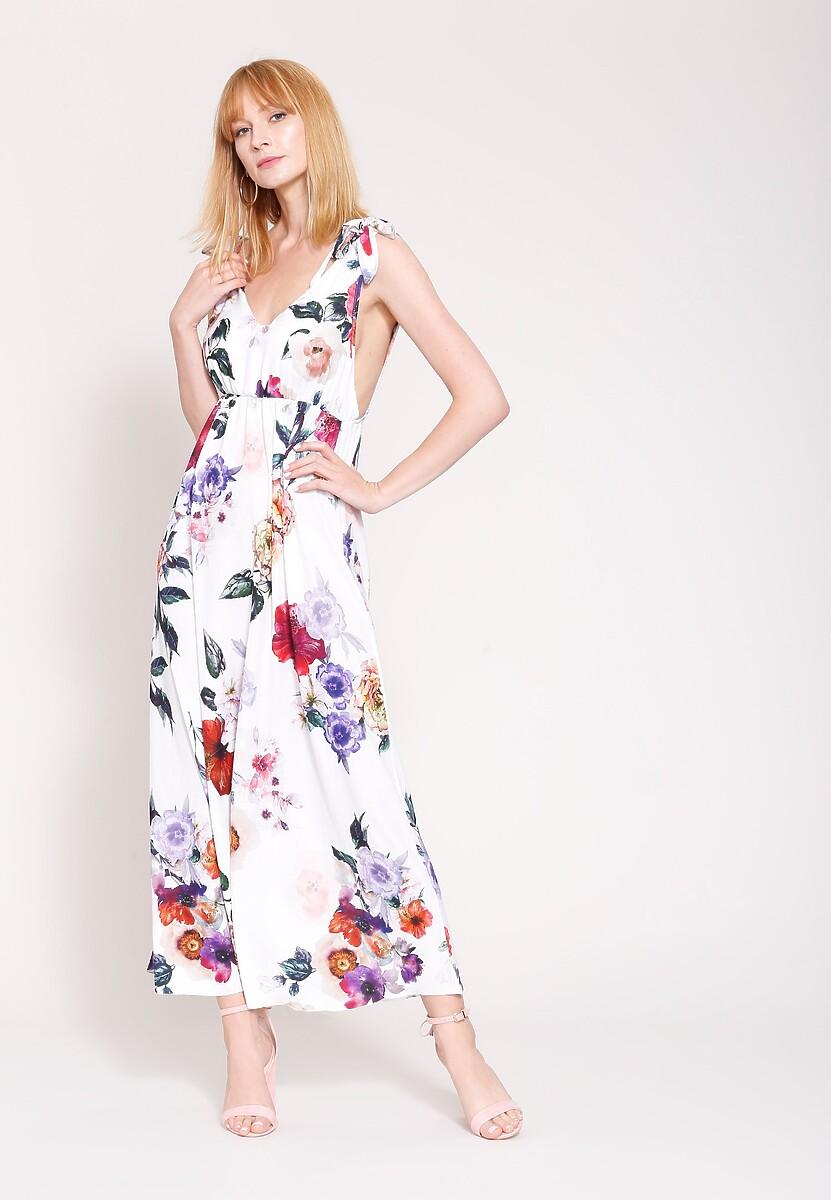 Biała Sukienka Romantic Empire