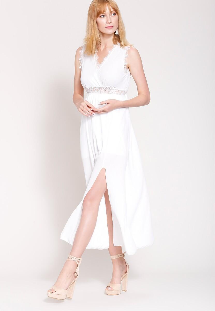 Biała Sukienka Great Look