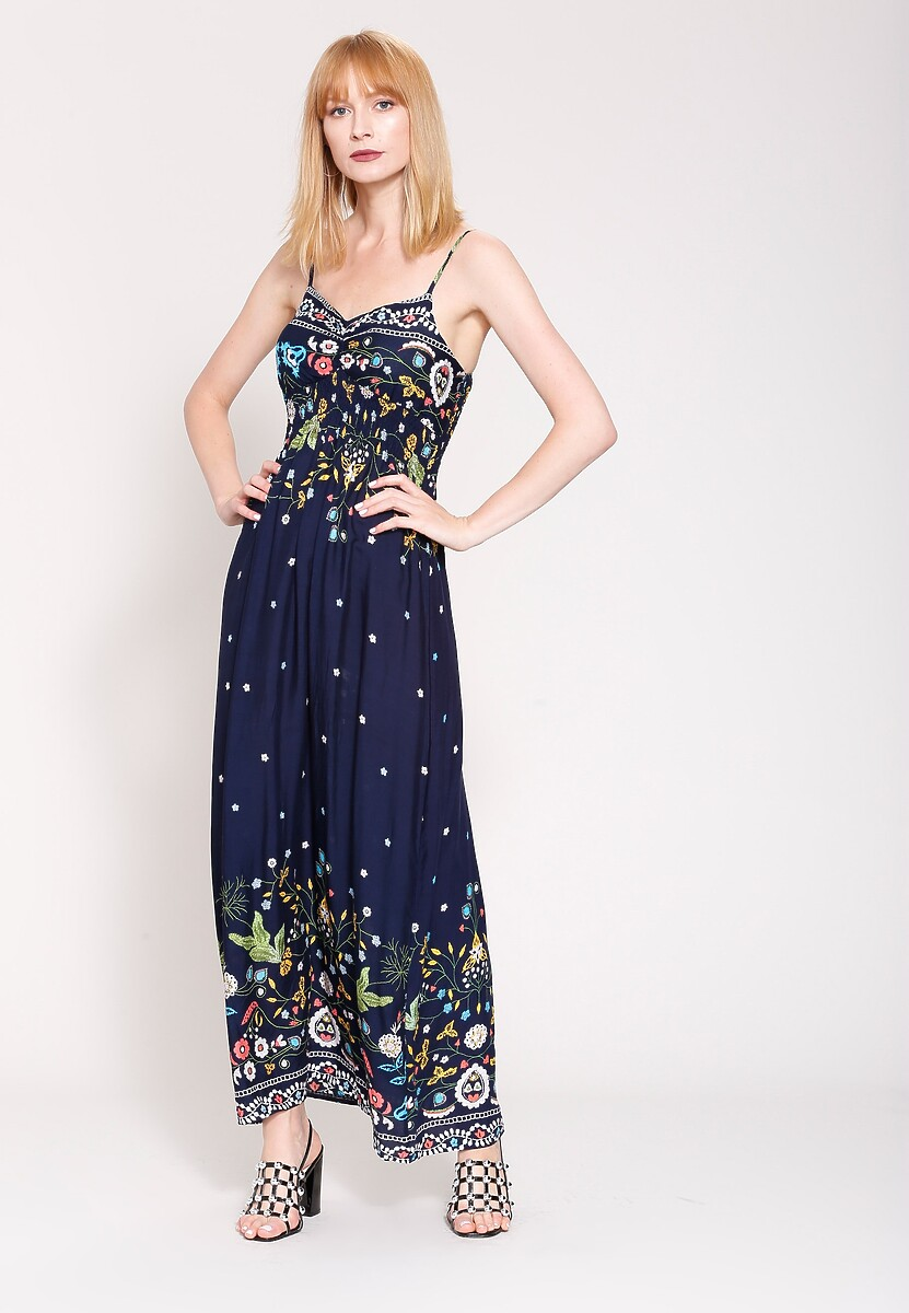 Granatowa Sukienka Tiny Elements