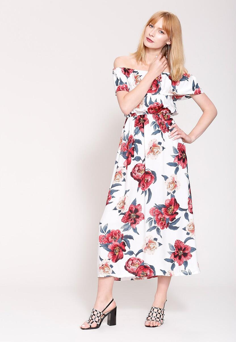 Biała Sukienka Summer Mood