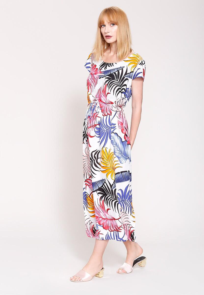 Biała Sukienka Palm Spring
