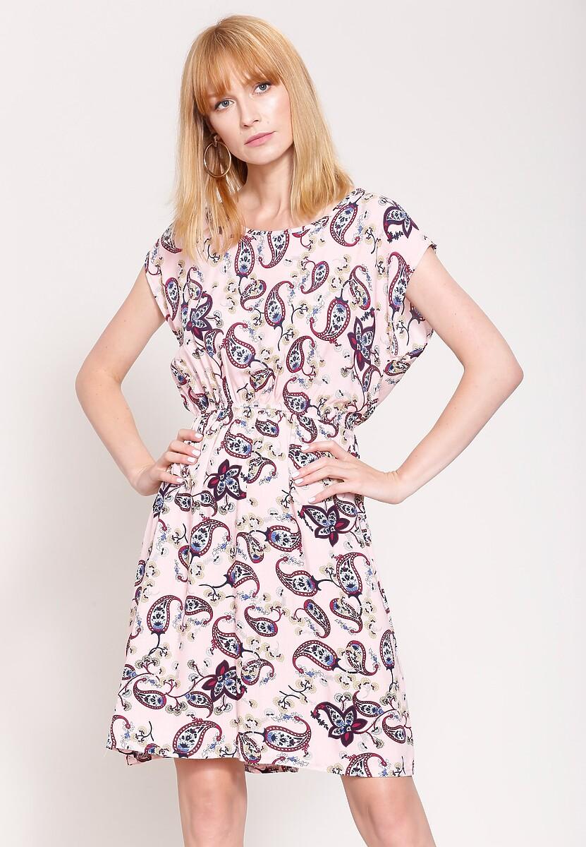 Różowa Sukienka Cosmic Girl