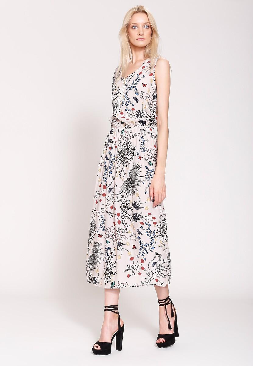 Kremowa Sukienka We Were In Love