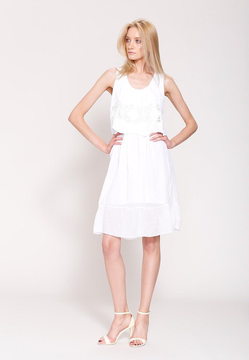 Biała Sukienka Pure Innocent