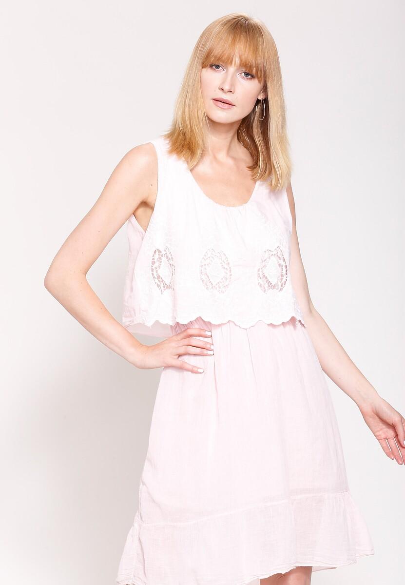 Jasnoróżowa Sukienka Pure Innocent