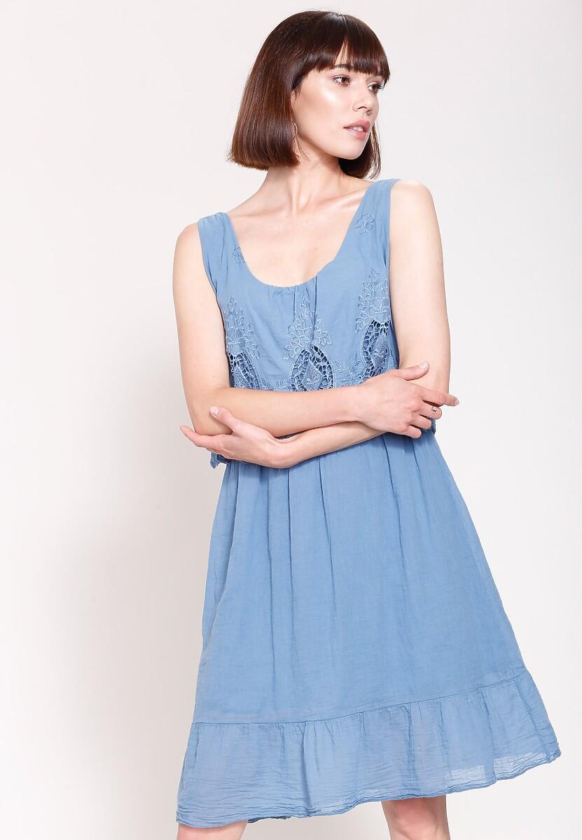 Niebieska Sukienka Pure Innocent