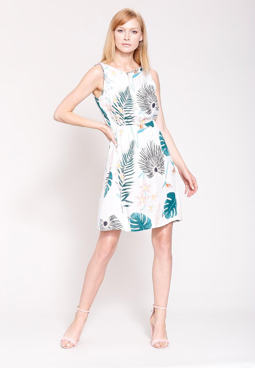 Biała Sukienka Fine For Me