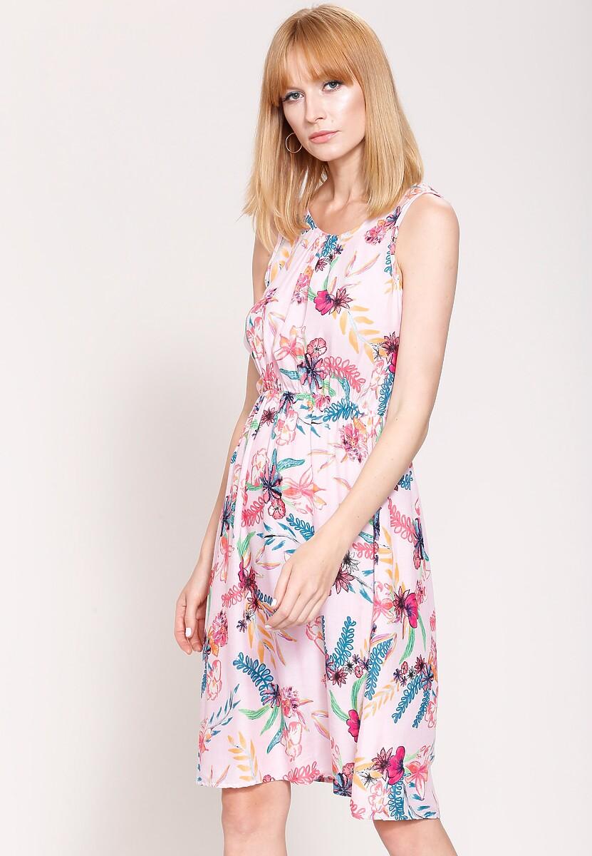 Różowa Sukienka Spring Party