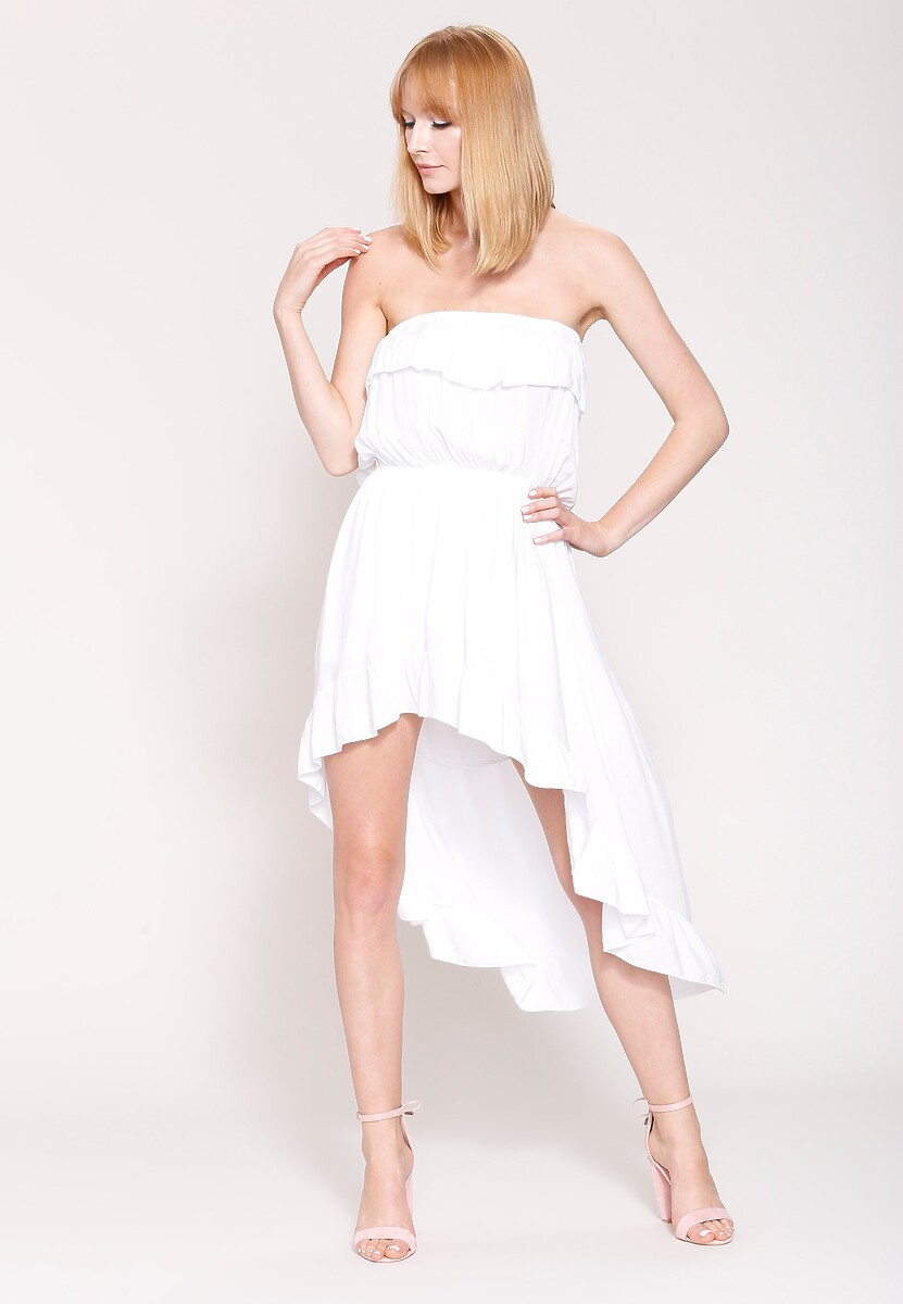 Biała Sukienka Totally In Love
