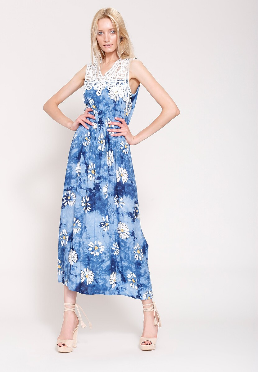 Niebieska Sukienka Colors On Me