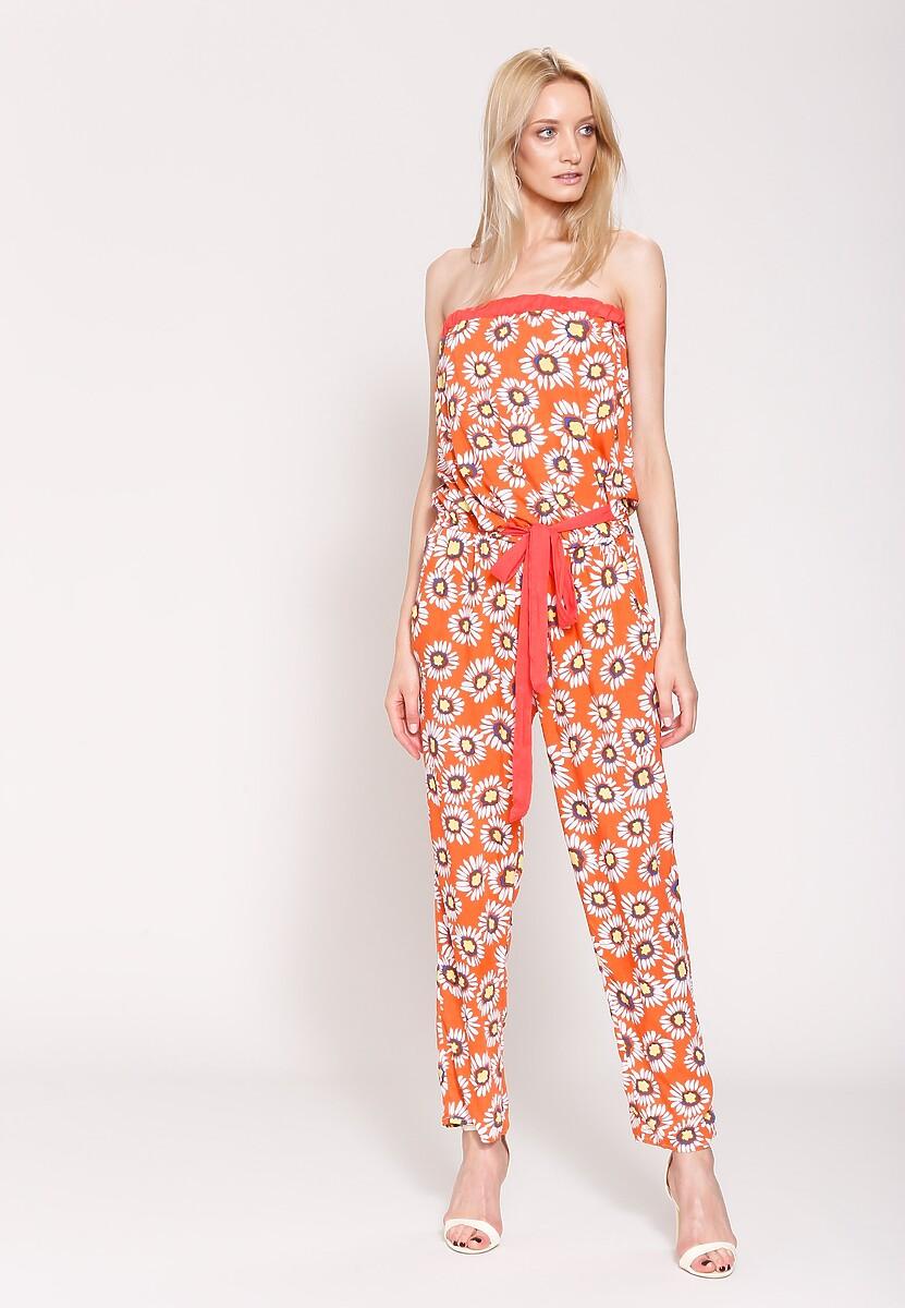 Pomarańczowy Kombinezon New Look New Way