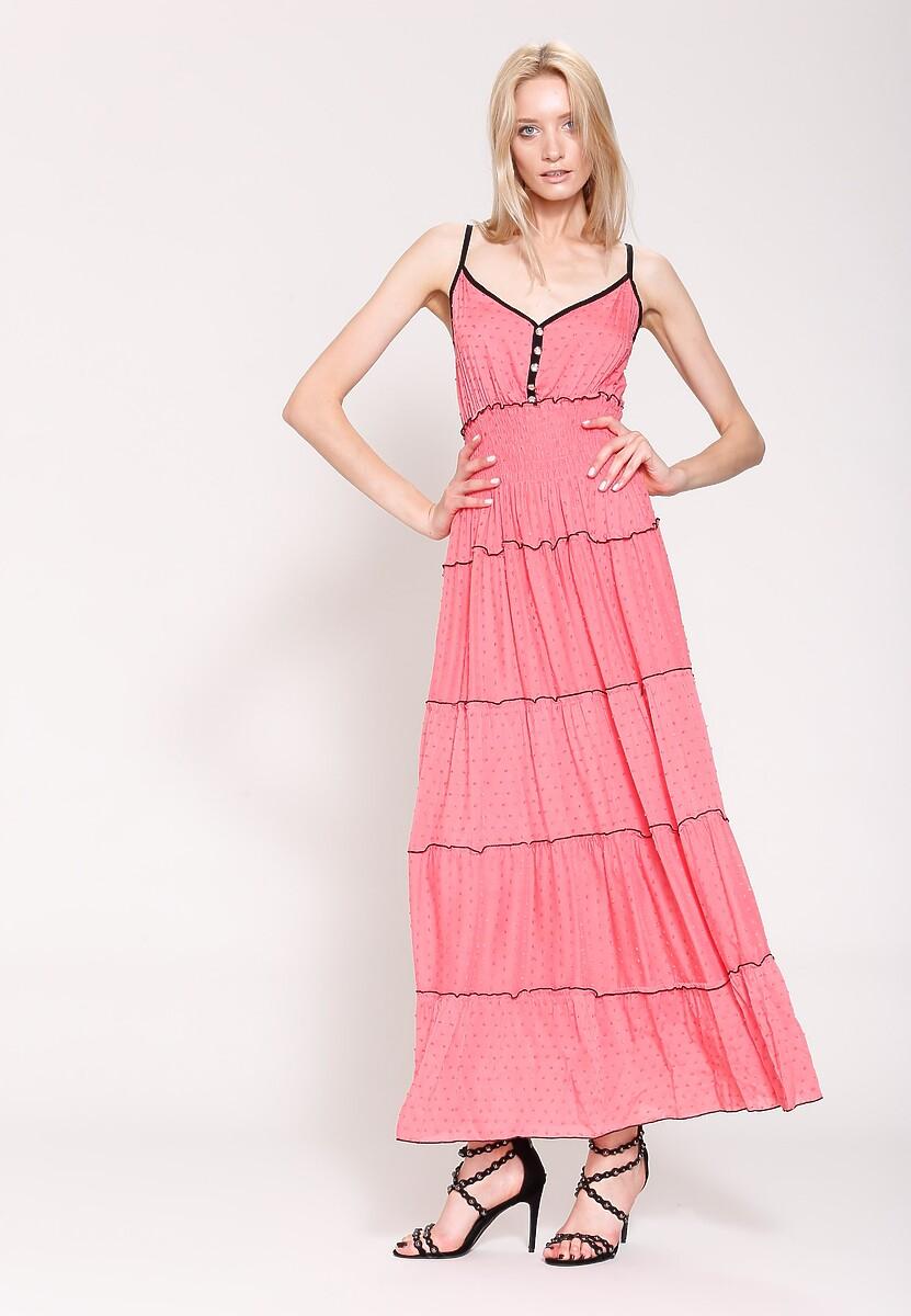 Różowa Sukienka Morning Beauty