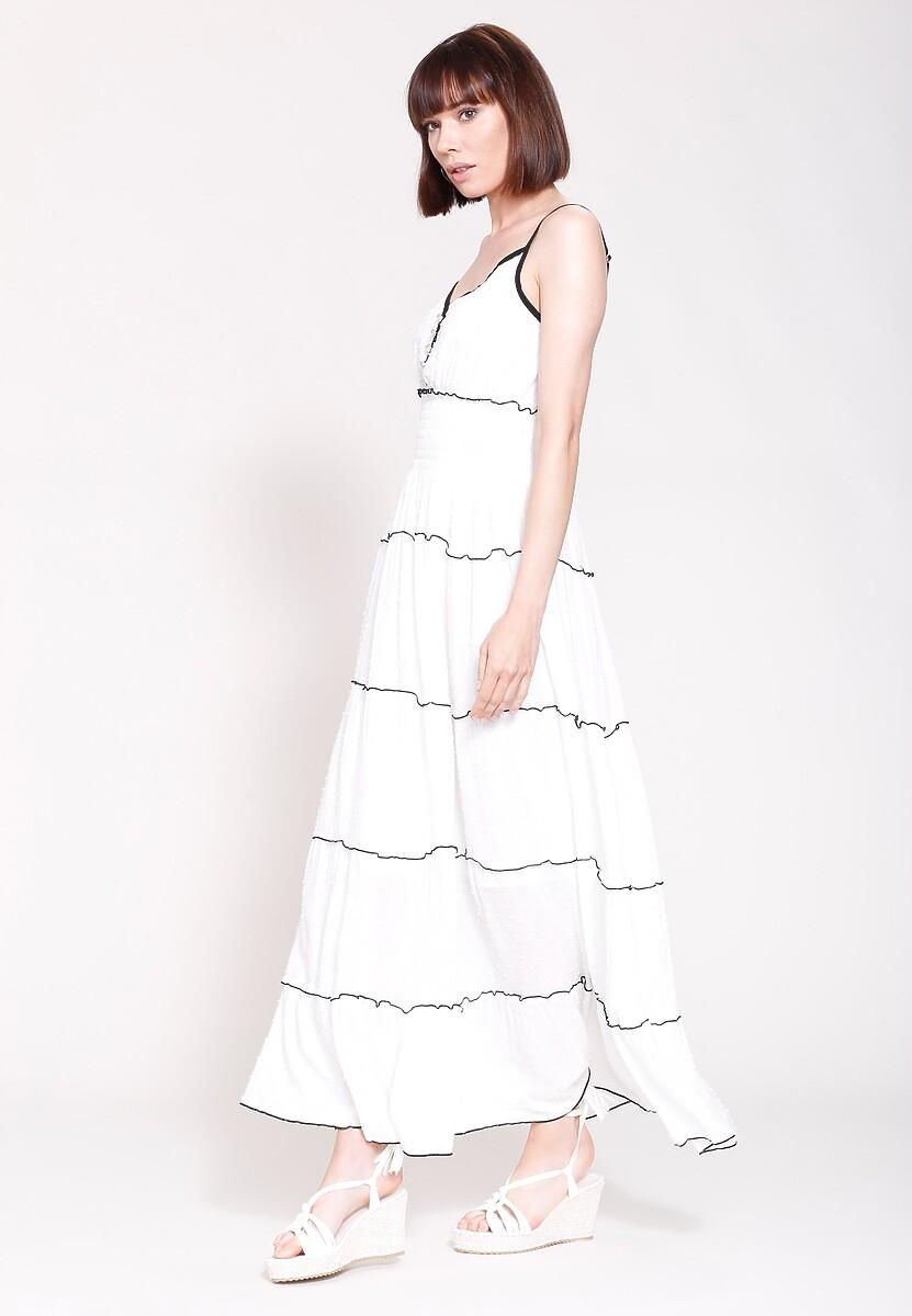 Biała Sukienka Morning Beauty