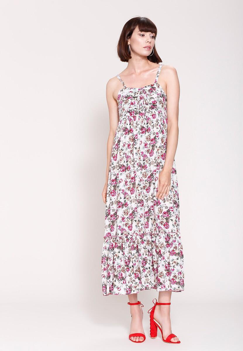 Biała Sukienka Dreamy Style