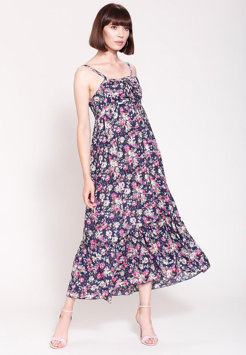 Granatowa Sukienka Dreamy Style